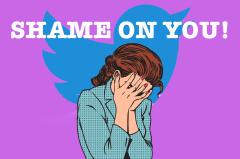 Twitter shame