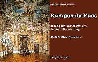 Rumpus Du Fuss in his office