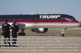 Trump jet 2