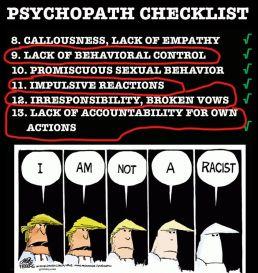 Trump psyho 2
