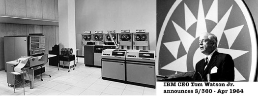 IBM 360 announcement