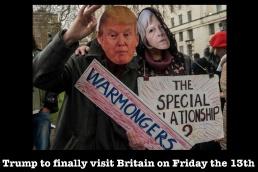Trump in Britdain