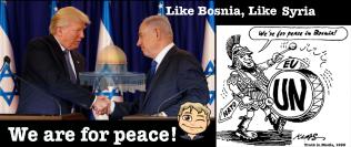 Trump Netanyahu Bosnia