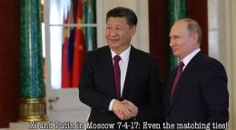 Xi Putin in Moscow 7-4-17